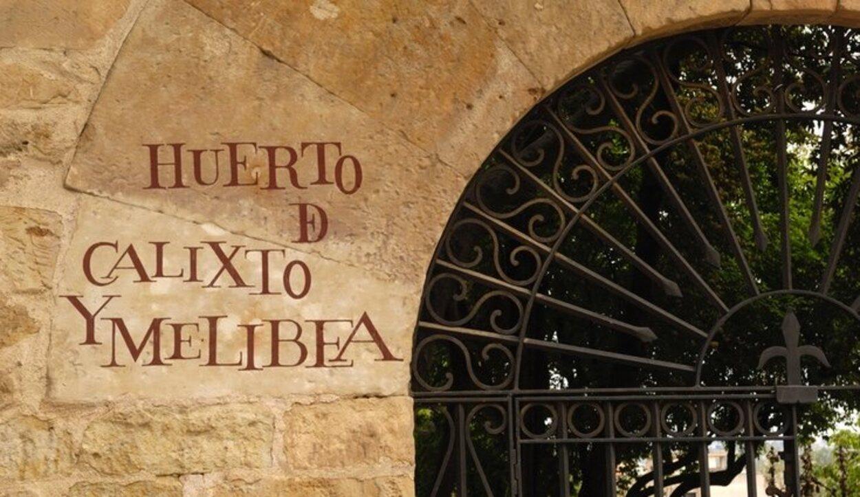 El Huerto de Calixto y Melibea se encuentra en Salamanca