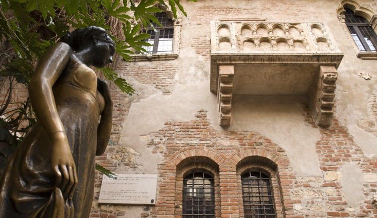 La casa de Julieta es una de las más visitadas de Verona