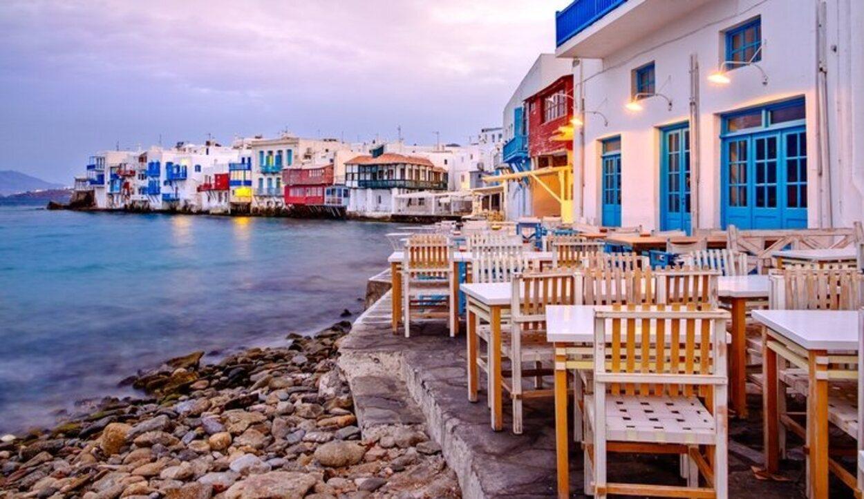 Mykonos se conoce como el refugio gay del Mediterráneo