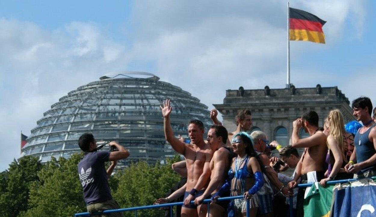 El desfile del orgullo gay de Berlín es de los más importantes de Eruopa