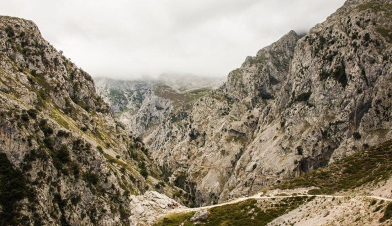 Las maravillosas vistas en los Picos de Europa