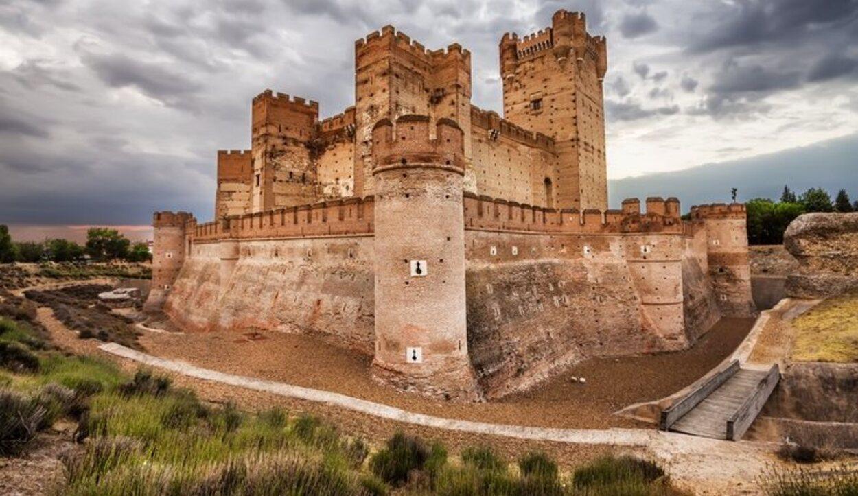 El Castillo de la Mota, en Medina del Campo