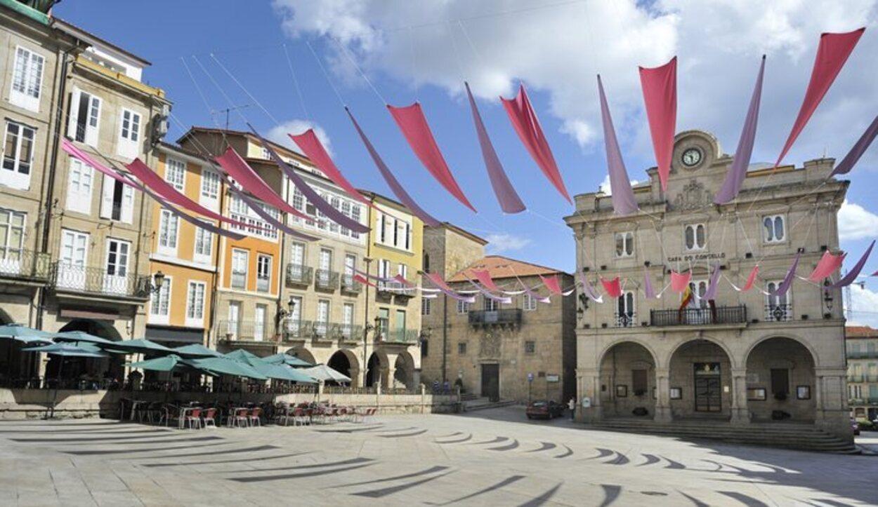 La Plaza Mayor es conocida por estar en pendiente
