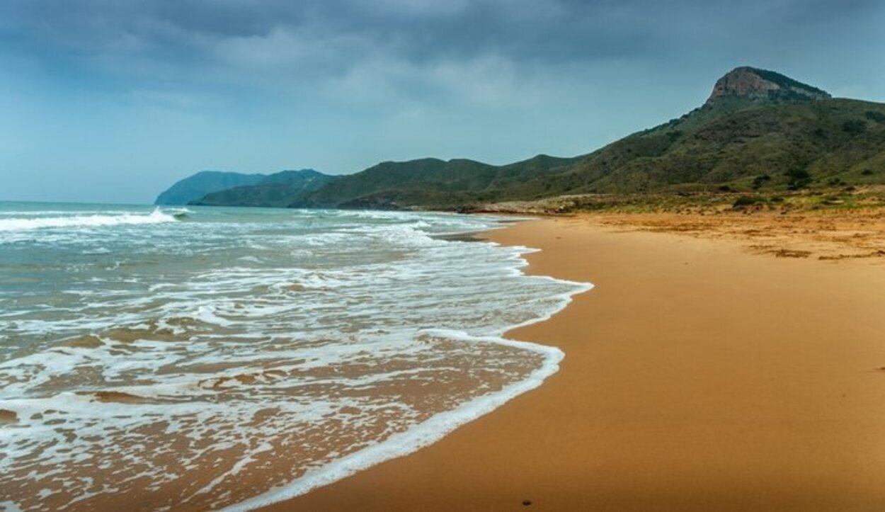 Playa de Calblanque, en Cartagena, Murcia