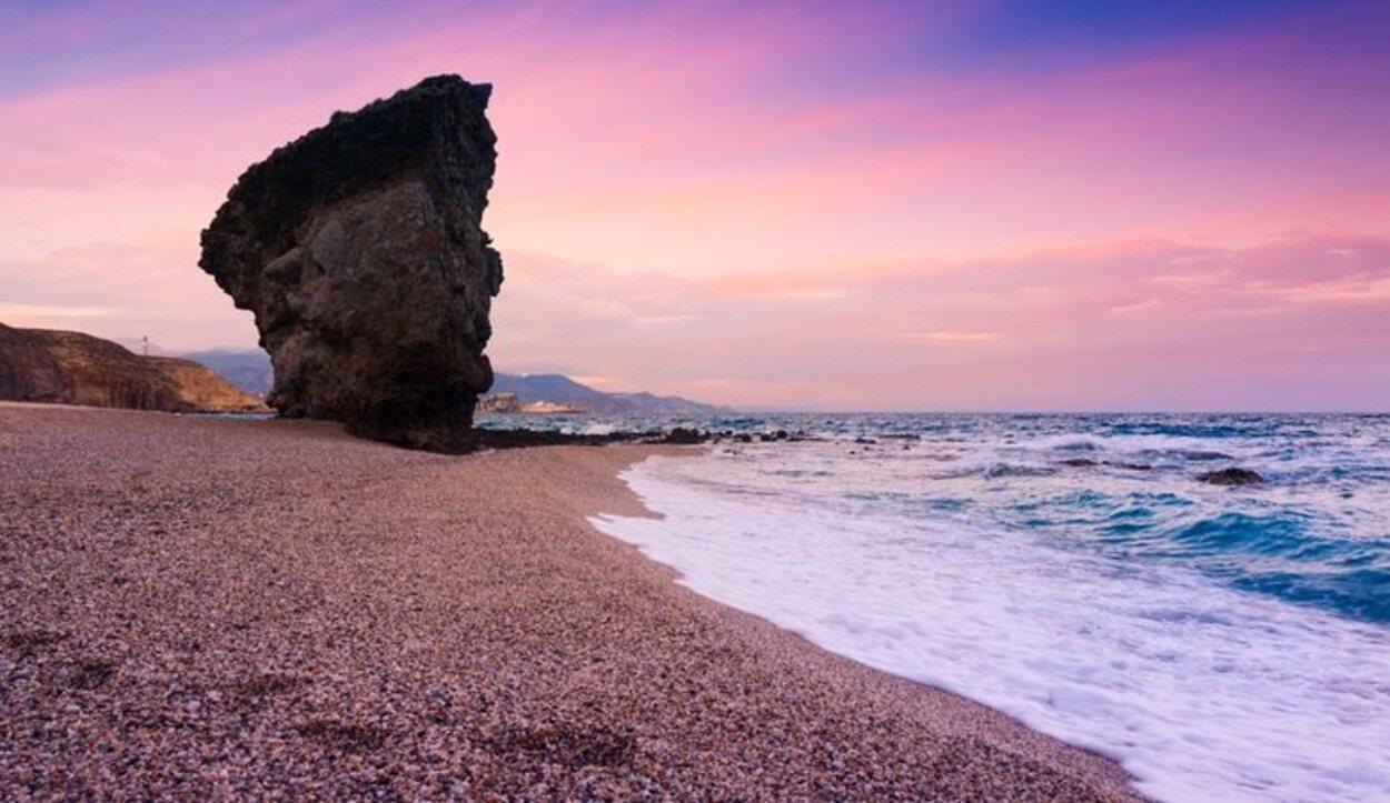 Playa de los Muertos, en Carboneras, Almería