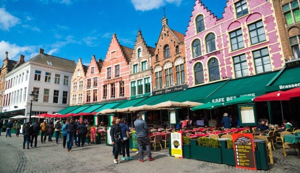 La plaza del mercado es uno de los lugares más emblemáticos de la ciudad