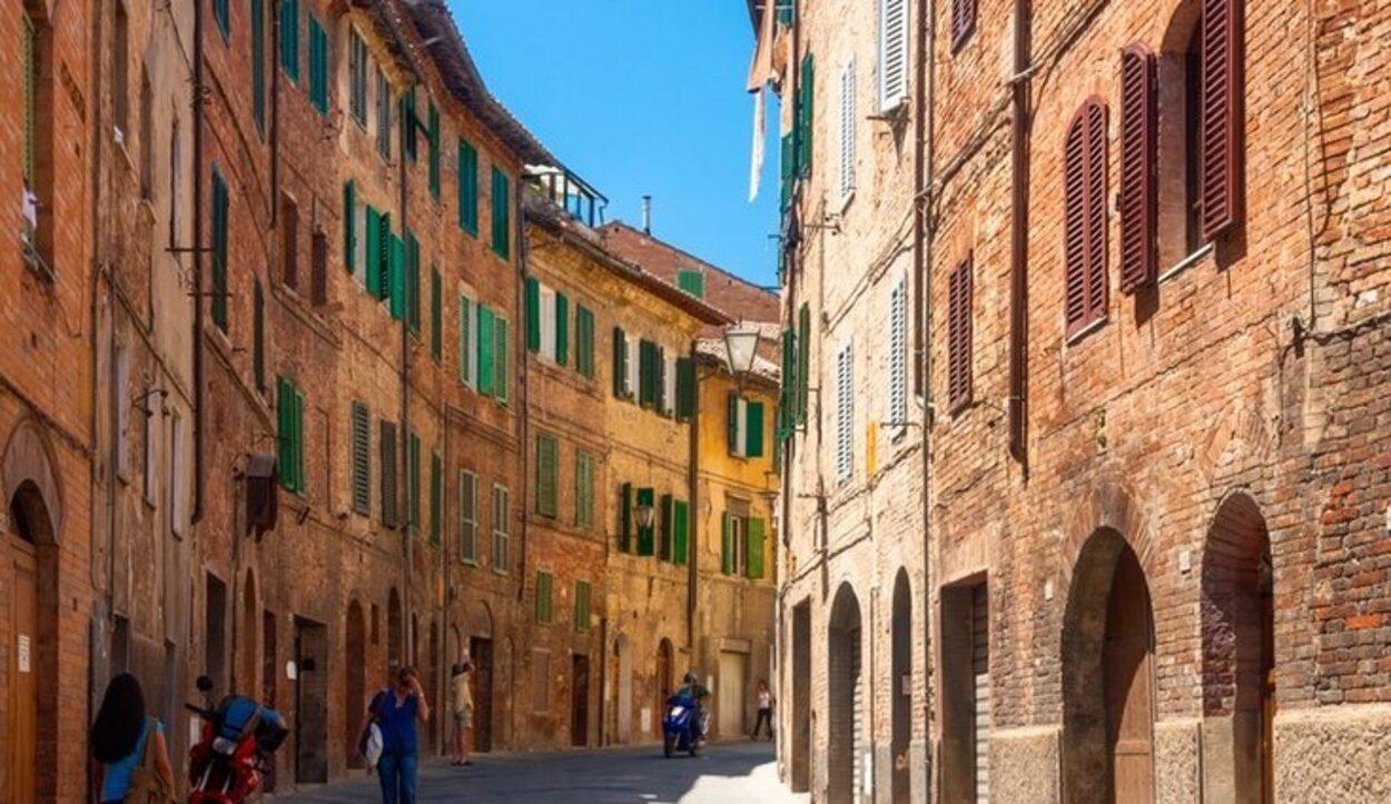 Las calles de Siena te trasladarán a la mismísima Edad Media
