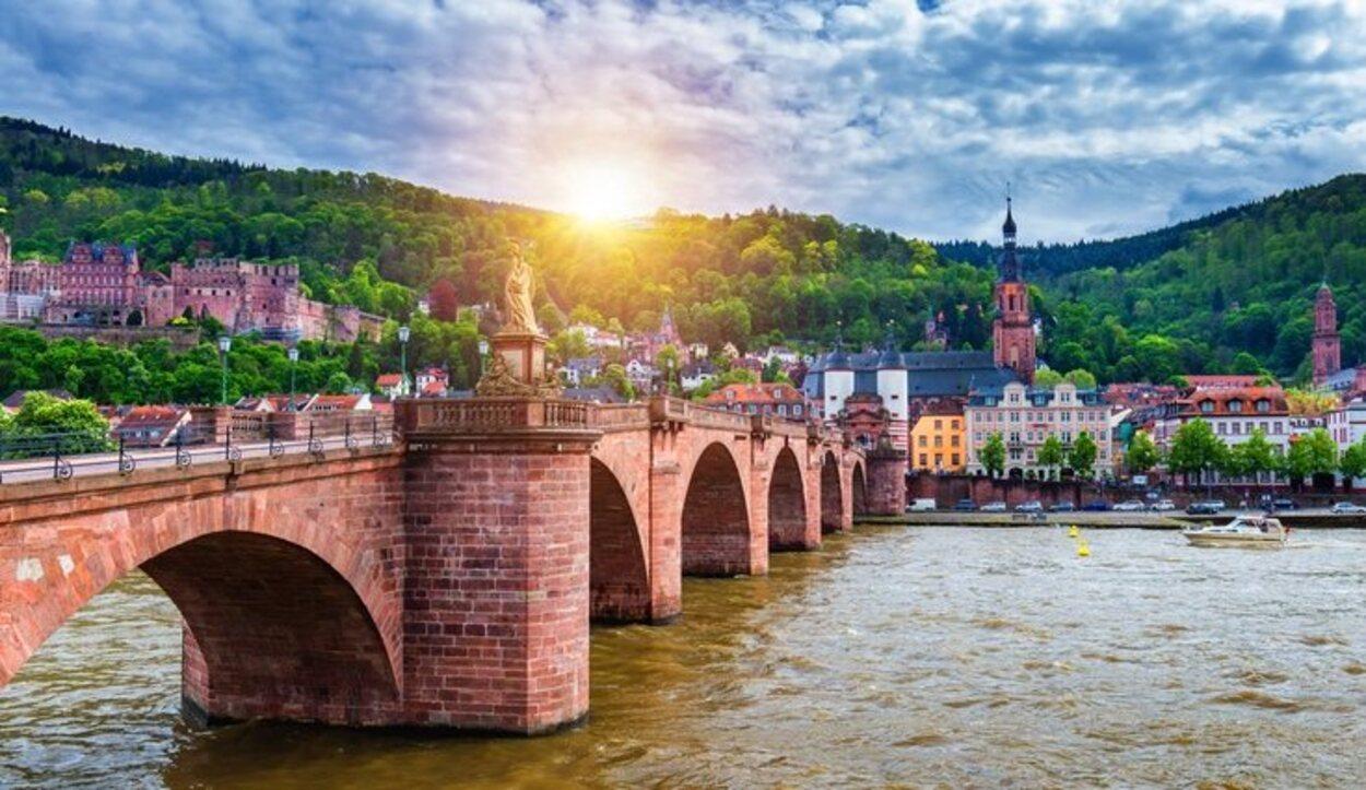Heidelberg está a las orillas del río Neckar