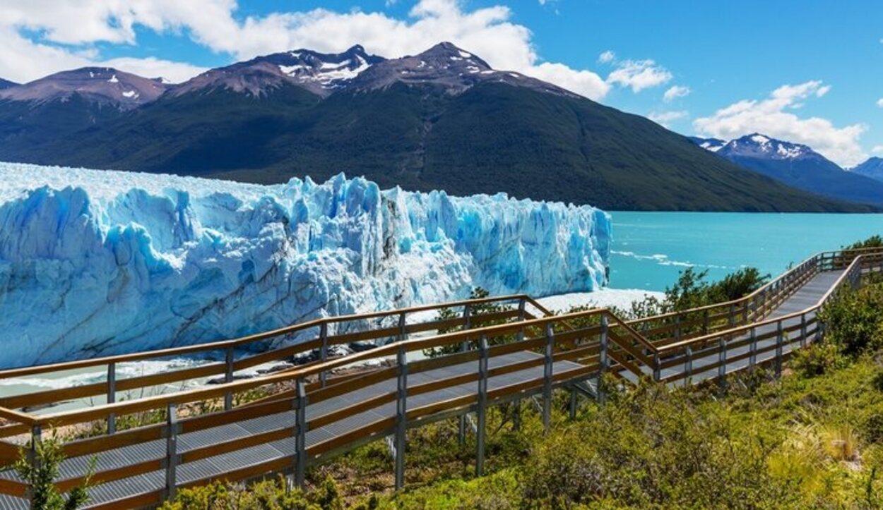 Puedes llegar al Glaciar Perito Moreno caminando