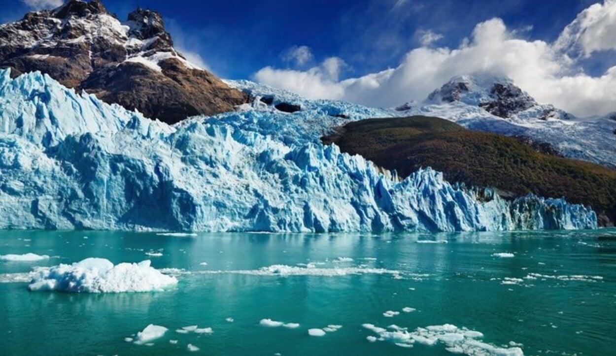 Este glaciar destaca porque es el único que no retrocede