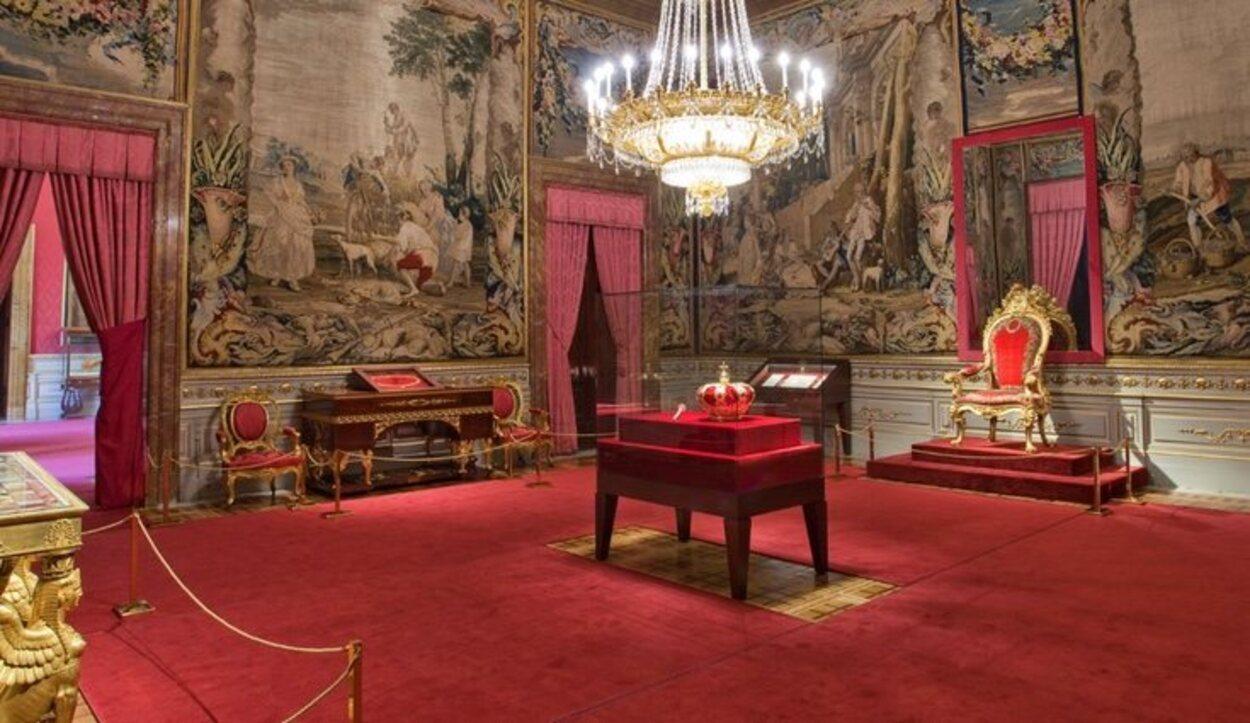 La Sala de la Corona fue abierta en el año 2014 | Fuente: Patrimonio Nacional