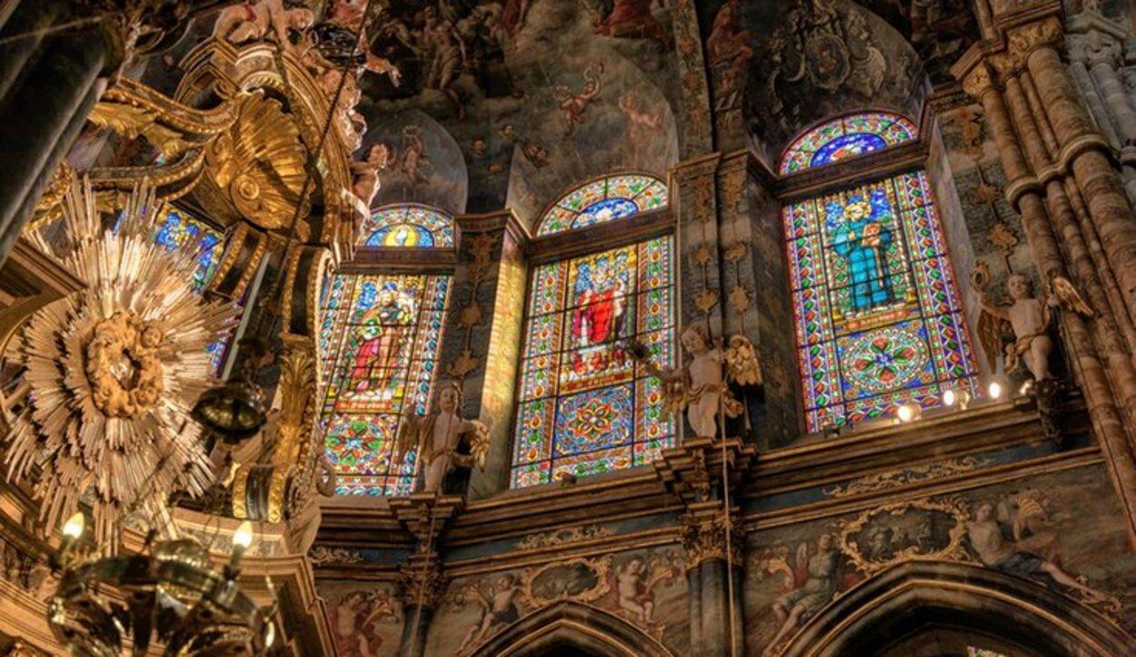 Interior de la catedral de Lugo