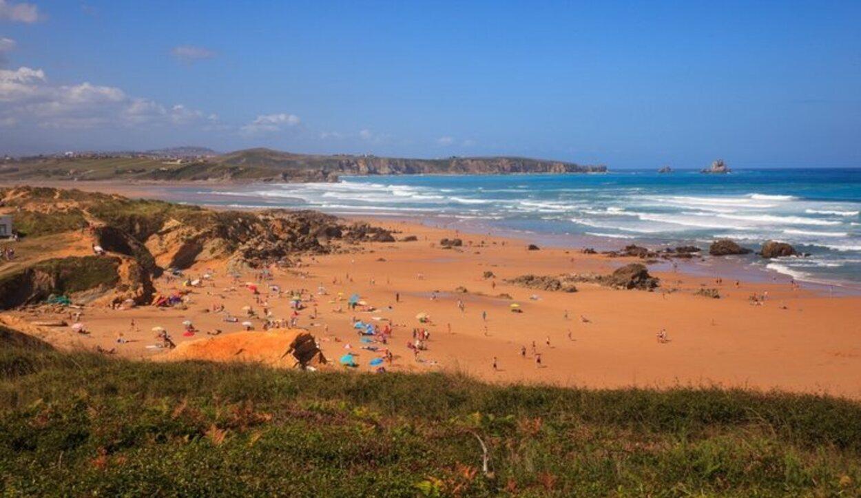 Las cinco playas suman un total de 75 metros de longitud