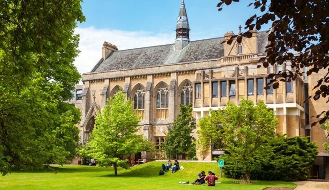 Estos jardines son unos de los más bonitos de Oxford