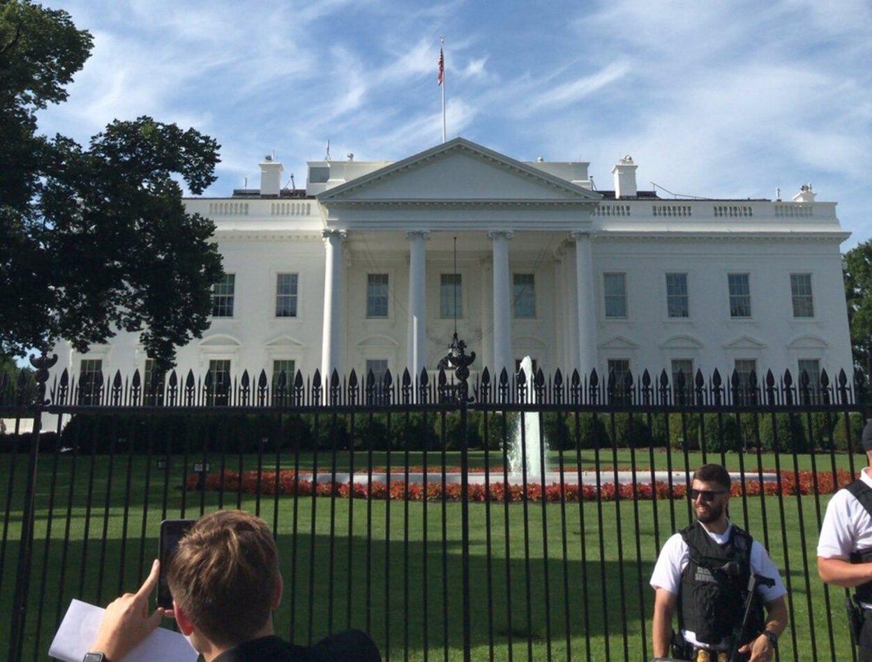 La Casa Blanca es uno de los puntos principales a visitar en la capital estadounidense