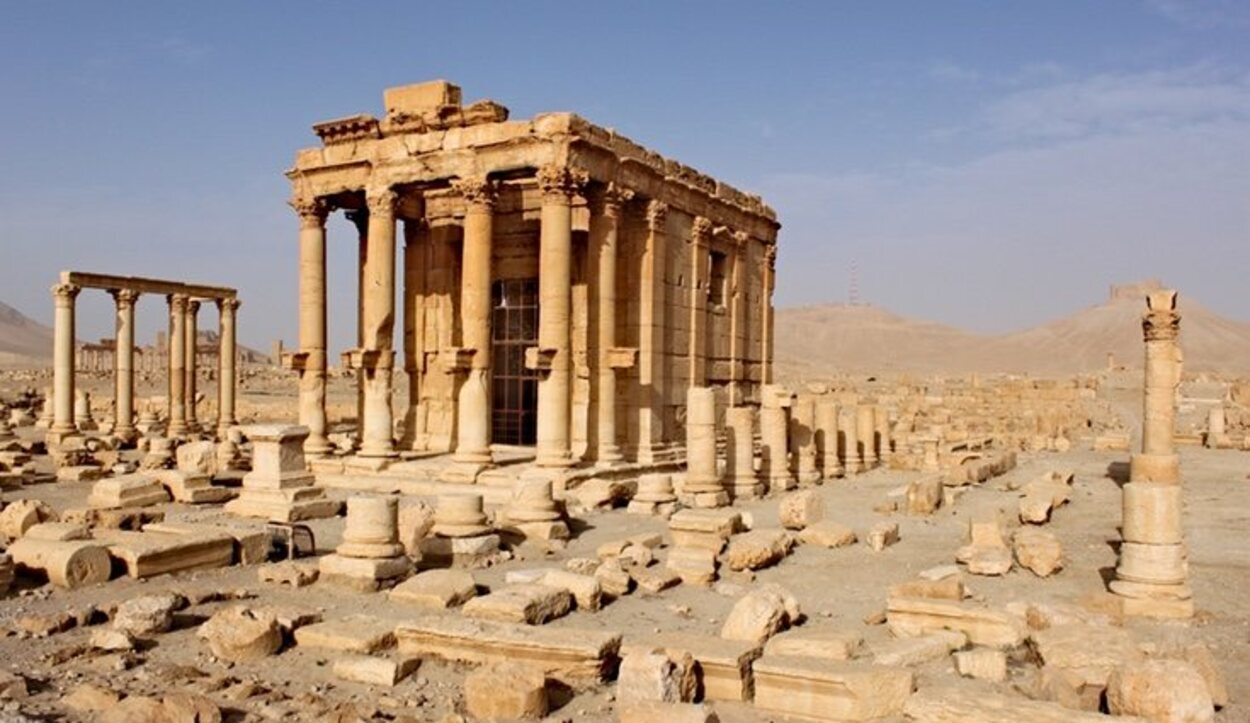 Templo de Baal-Shamin en Siria