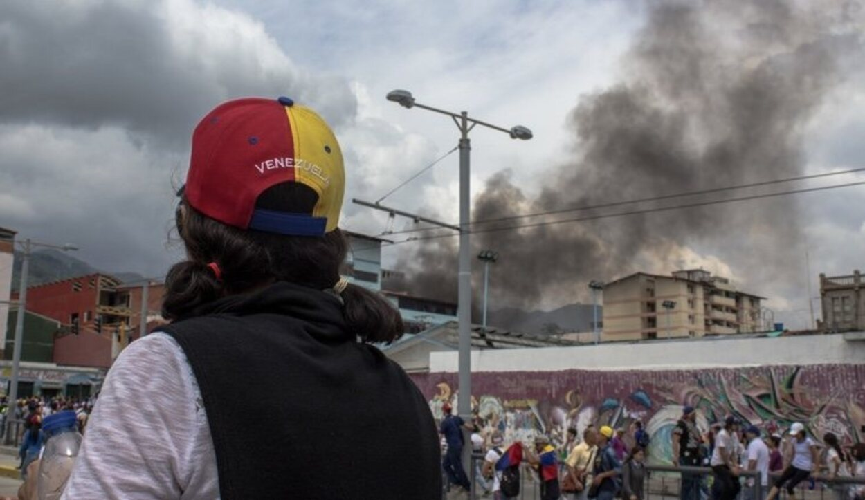 Las revueltas sociales contra el Gobierno hacen de Venezuela un lugar peligroso