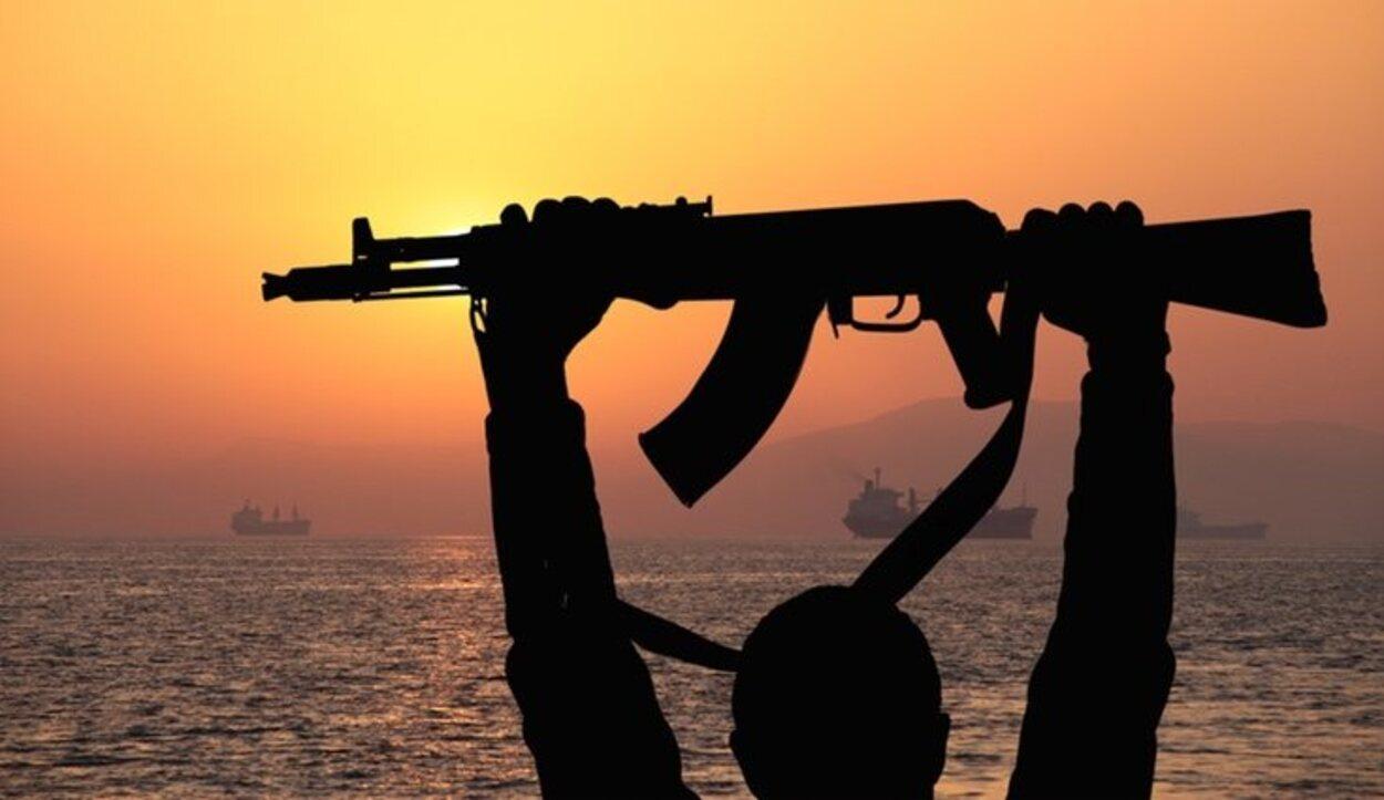 Los piratas somalíes son una amenaza importante en las aguas que rodean al país