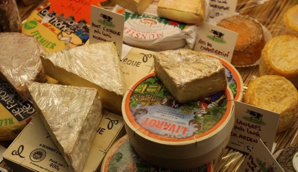 Los quesos destacan en la gastronomía de Toulouse