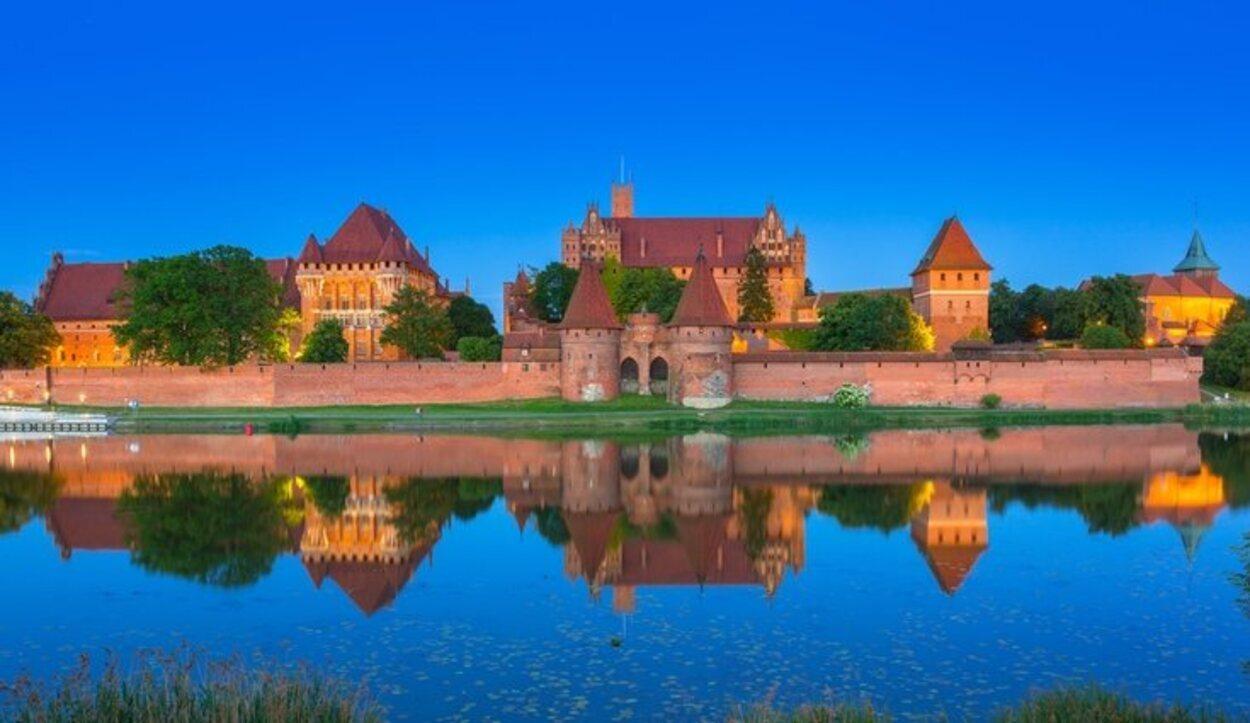 La fortaleza gótica más grande de Europa