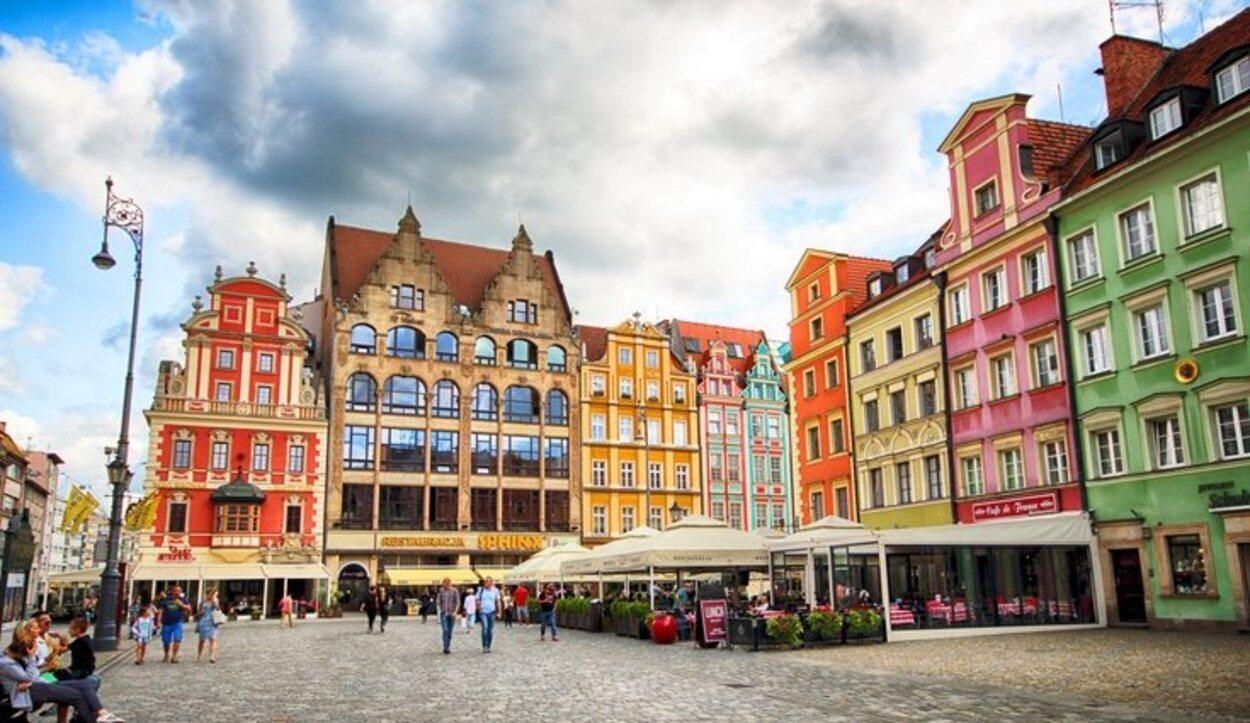 La plaza de Wroclaw, una de las más bellas de Europa