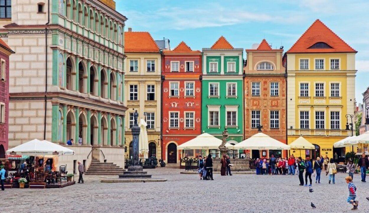La Plaza del Mercado de Poznan es el corazón de la ciudad