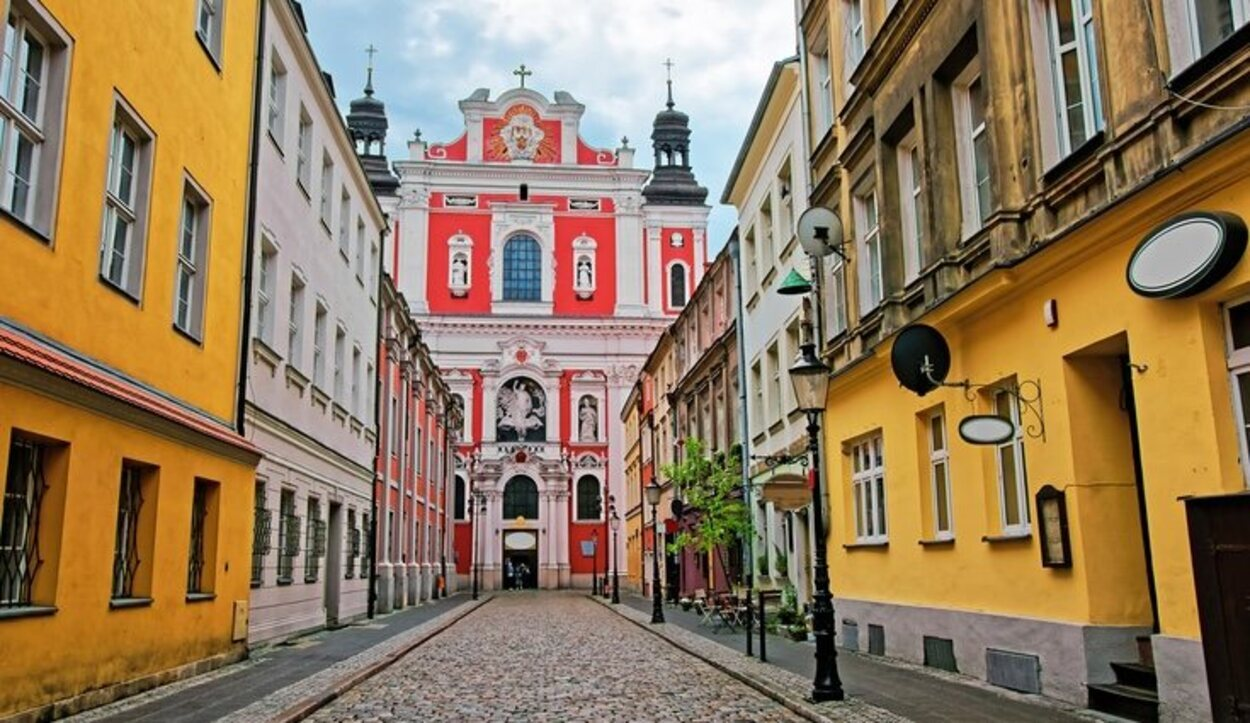 La Iglesia de San Estanislao es el segundo centro religioso más importante de la ciudad