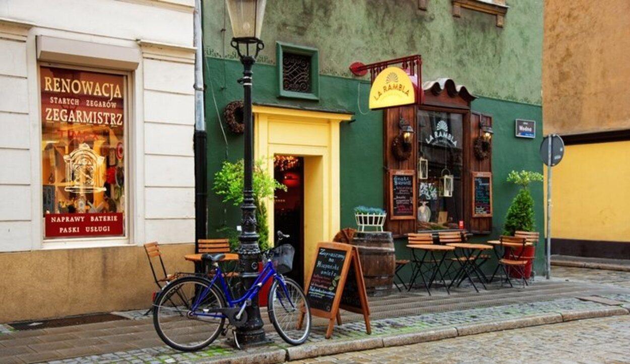 Uno de los locales que puedes encontrar callejeando por Poznan