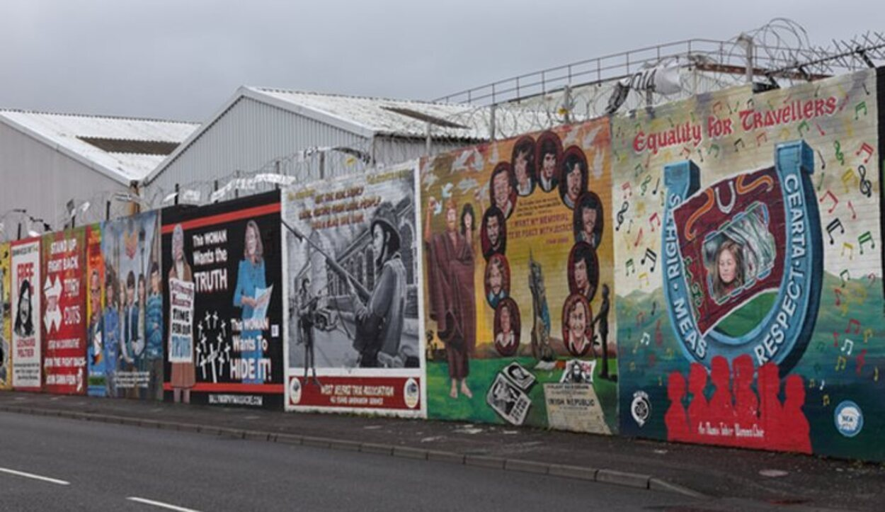 Algunos de los murales que aún se pueden ver por la ciudad
