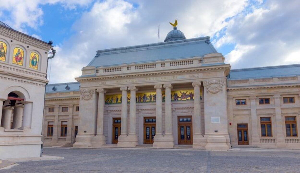 Vista del Palatul Patriarhiei