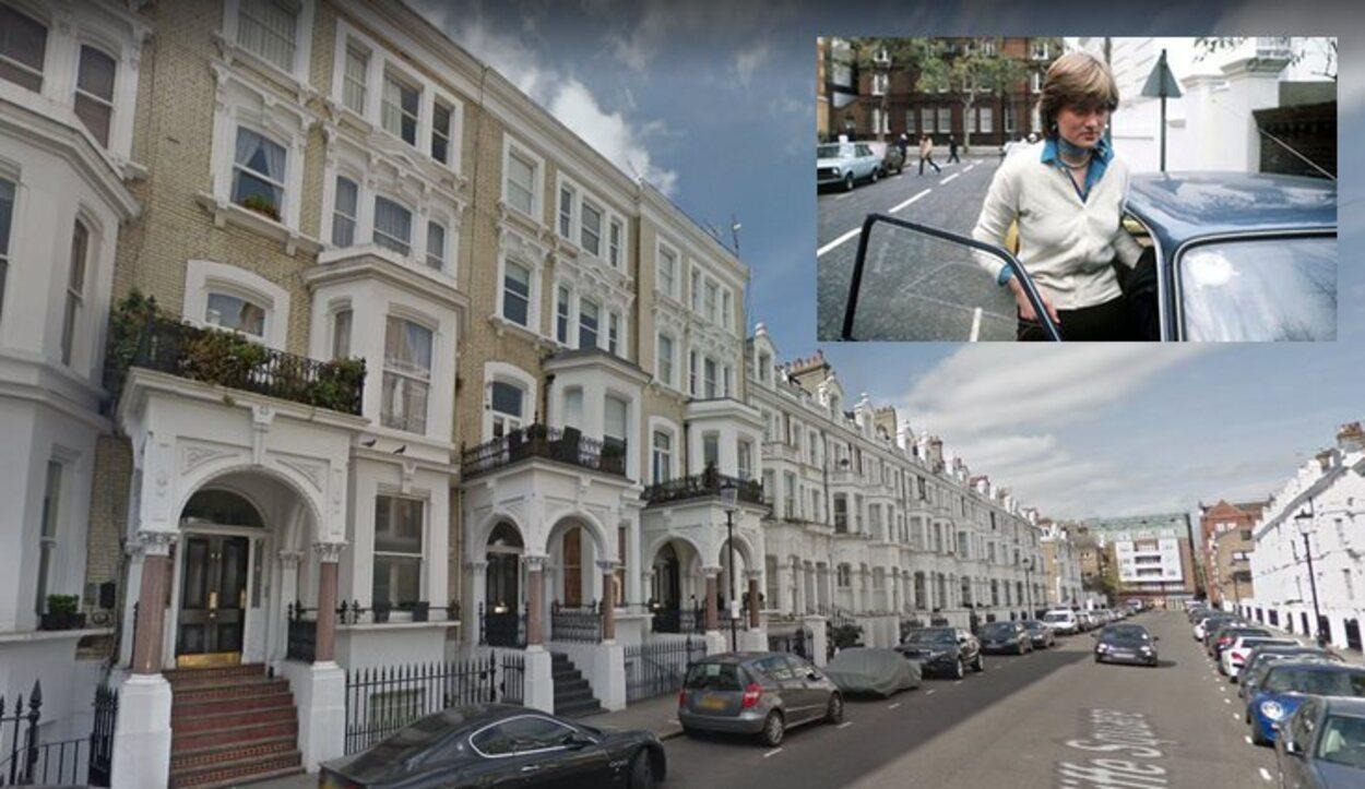 Diana Spencer compartía piso con otras 3 chicas mientras vivía trabajaba en una guardería (Londres)