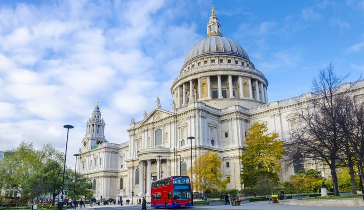 La Iglesia de San Pablo albergó el enlace real el 29 de julio 1981 (Londres)