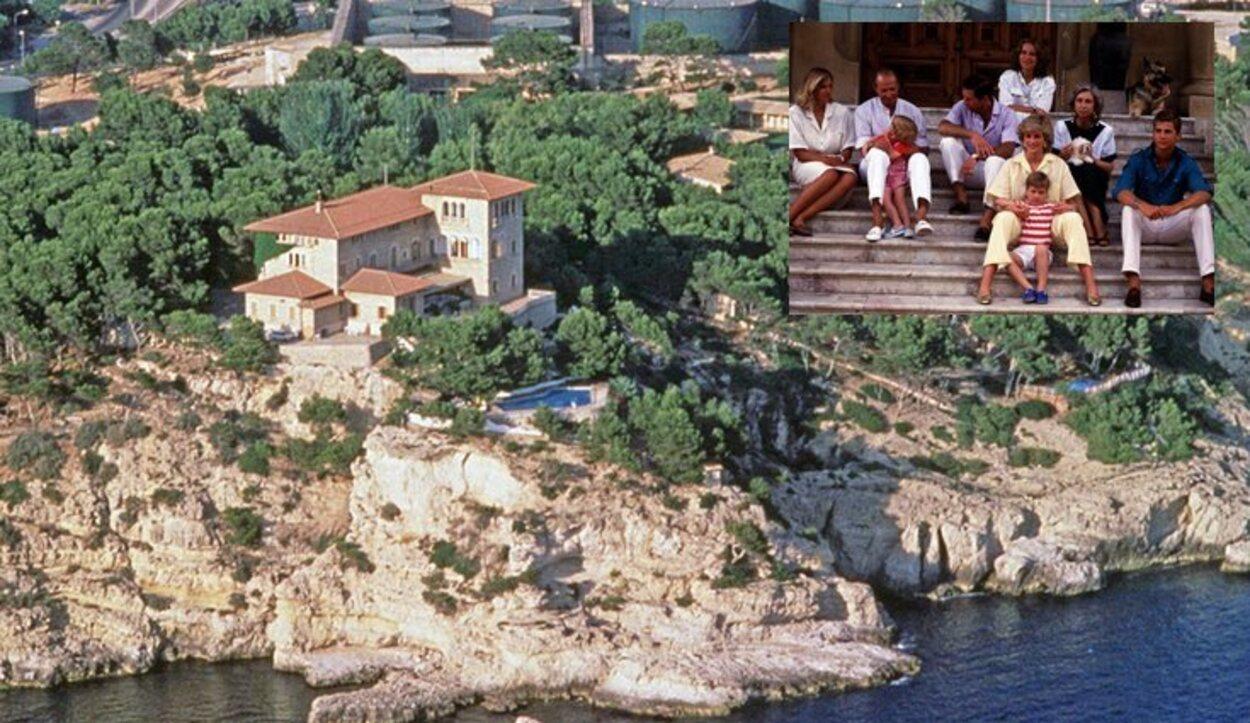 La Familia Real Británica pasó aquí los veranos de 1986, 1987, 1988 y 1990 (España)