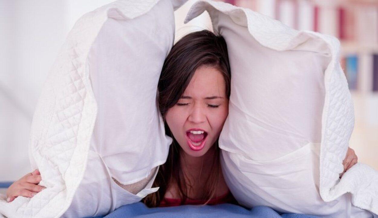 Utilizando técnicas de relajación podrás conseguir quedarte dormido