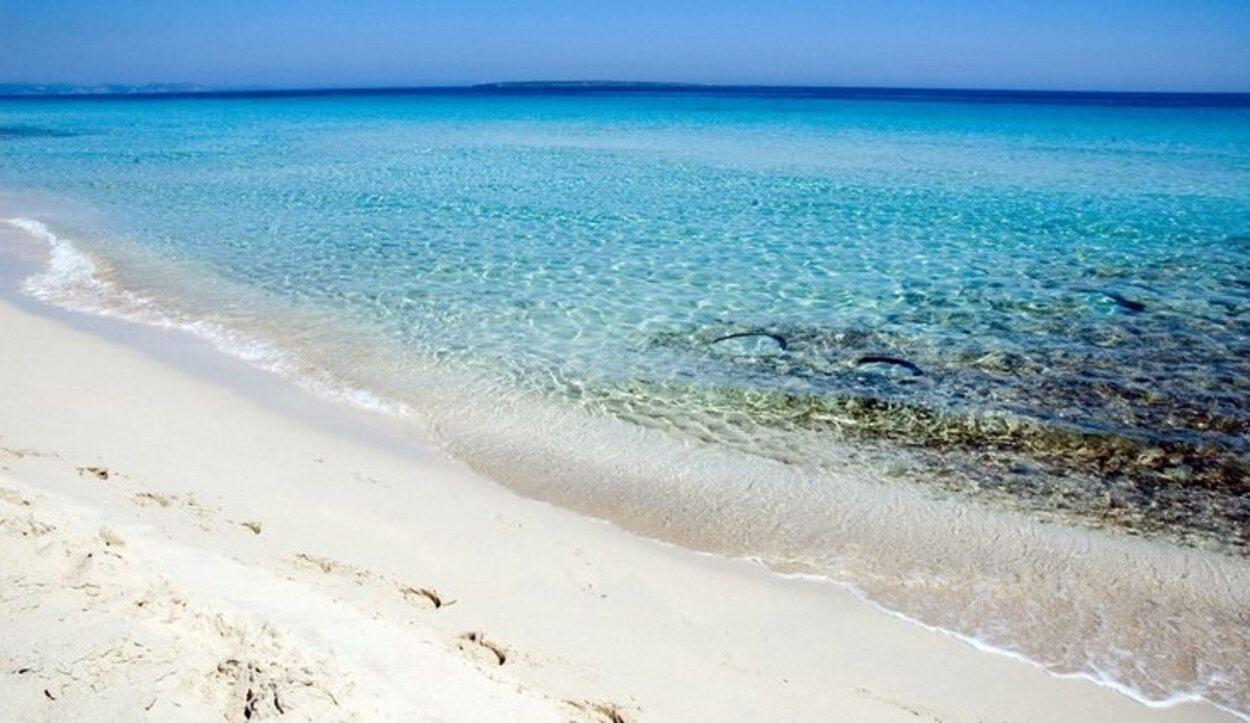 La vecina de Illetes, la playa de Levante