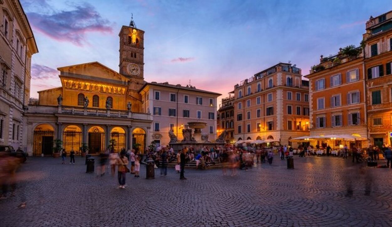 El barrio de Trastevere hay que visitarlo tanto de día como de noche