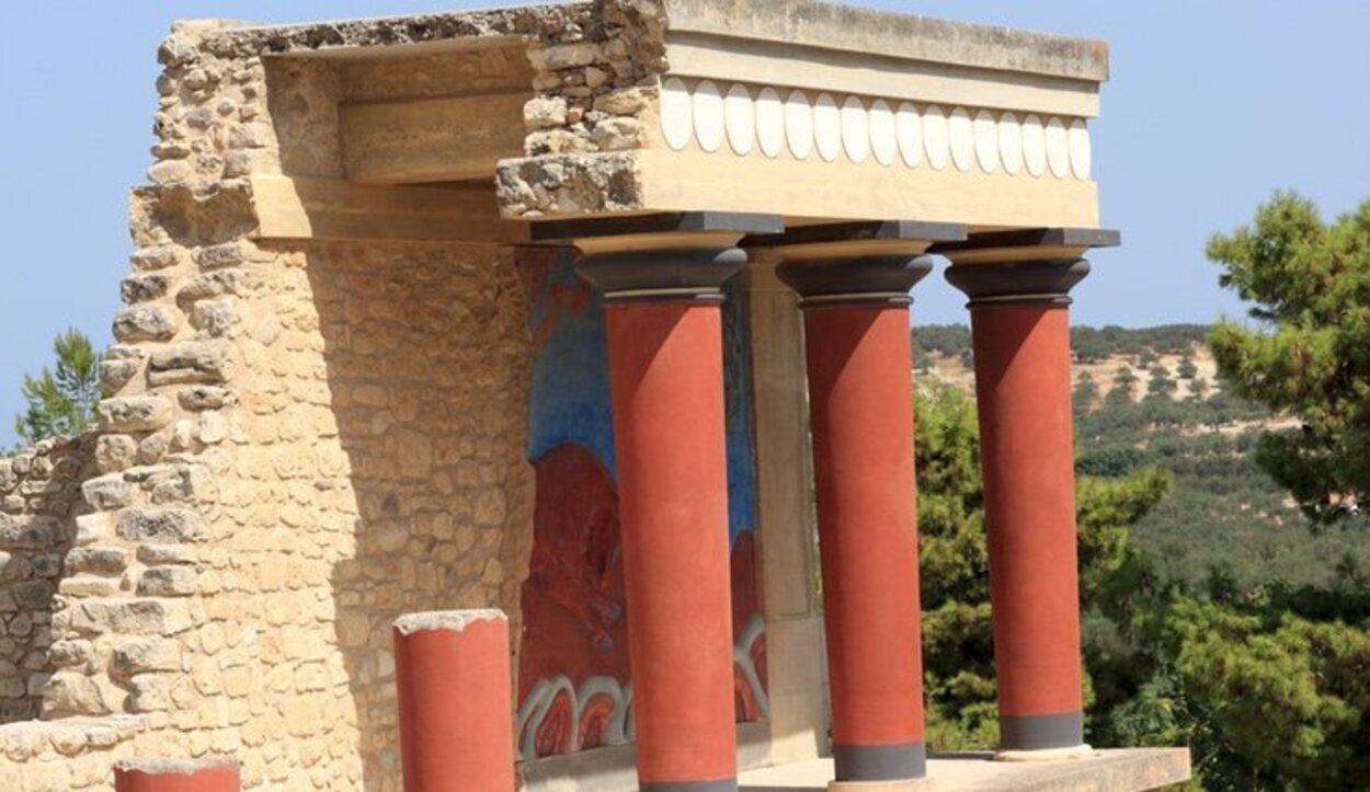 El palacio del Knossos es una parada obligatoria al llegar a Creta