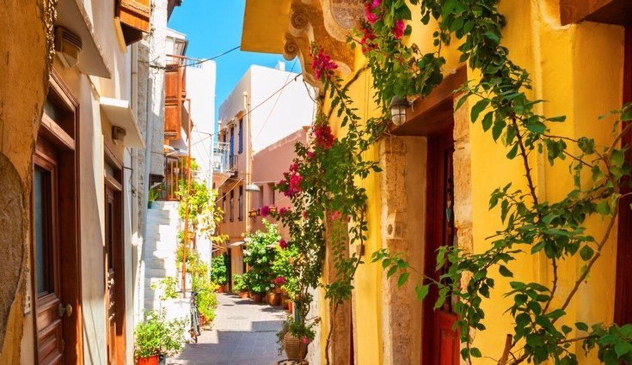 La Isla de Creta se divide en cuatro regiones Chania Rethymno Heraklion y Lassithi
