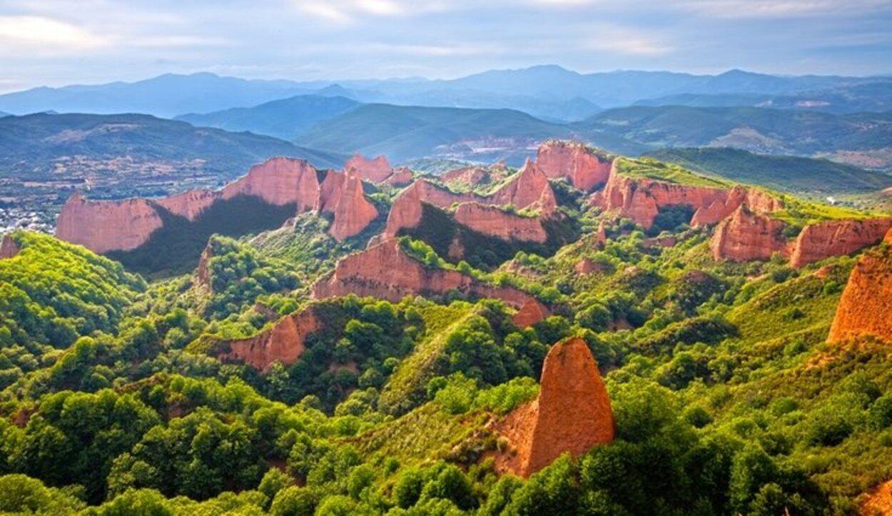 Las Médulas fueron declaradas Patrimonio de la Humanidad por la UNESCO en 1997