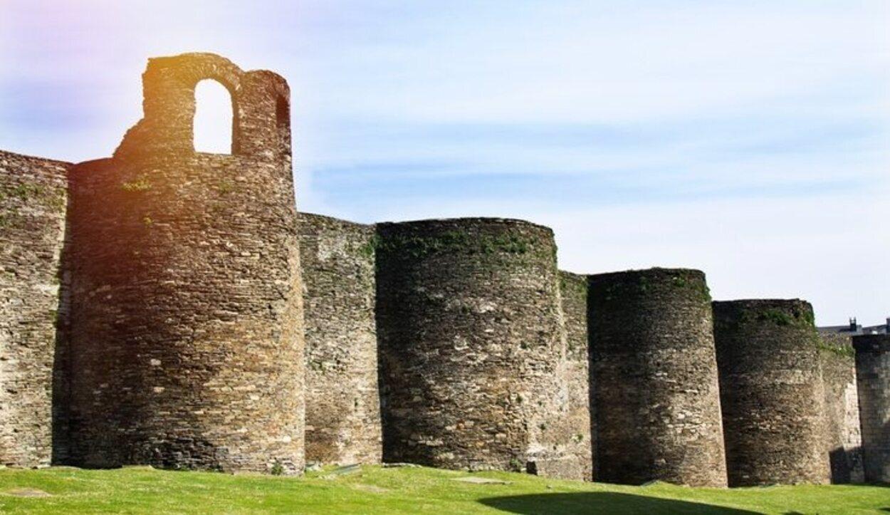 Las Murallas de Lugo fueron levantadas para proteger el Bosque Sagrado de Augusto