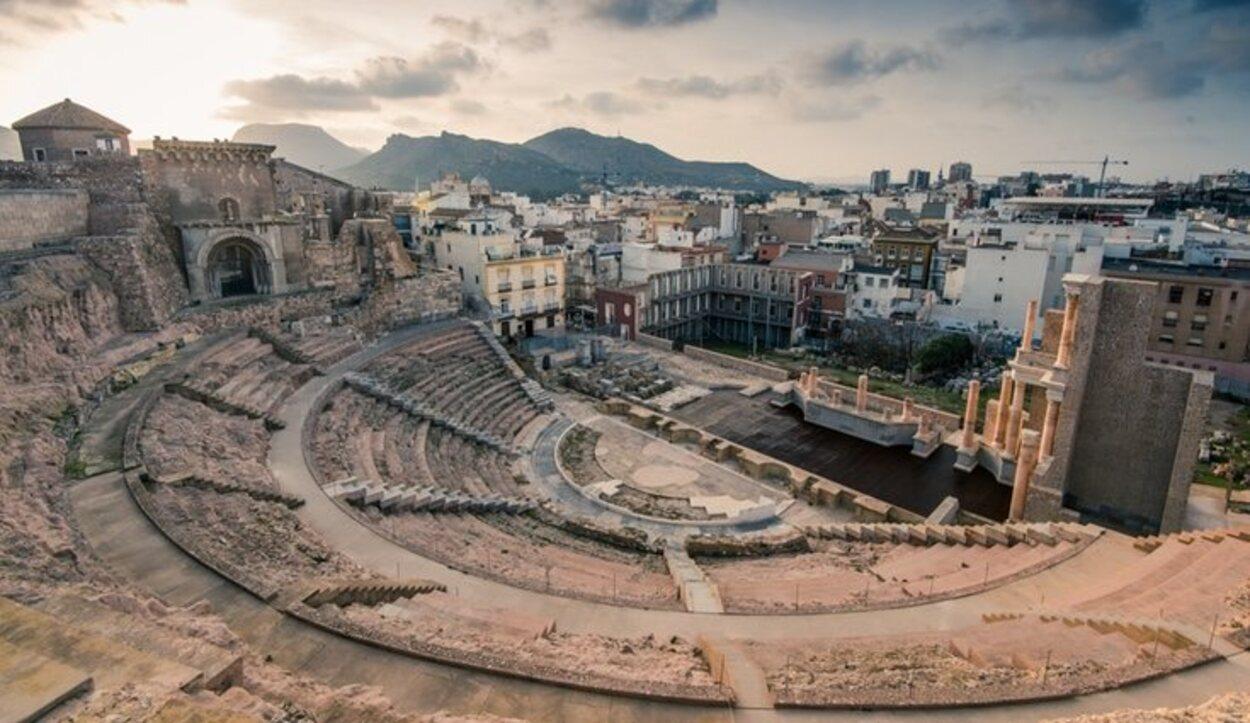 Este teatro es una de las grandes joyas de Cartagena