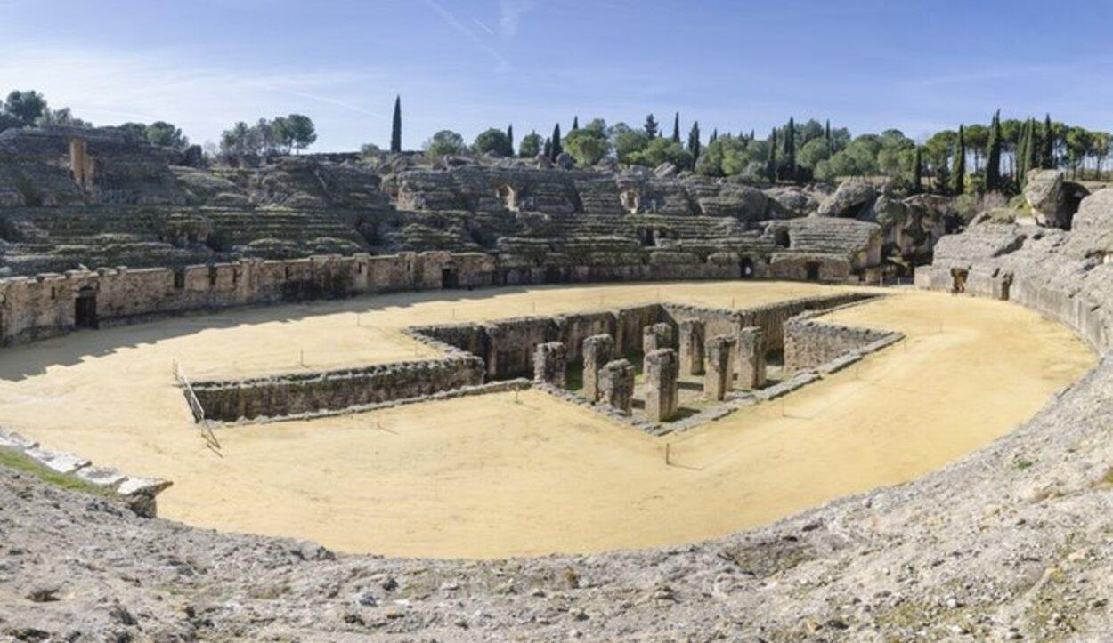 En el sevillano pueblo de Santiponce se han grabado escenas de la existosa serie 'Juego de Tronos'