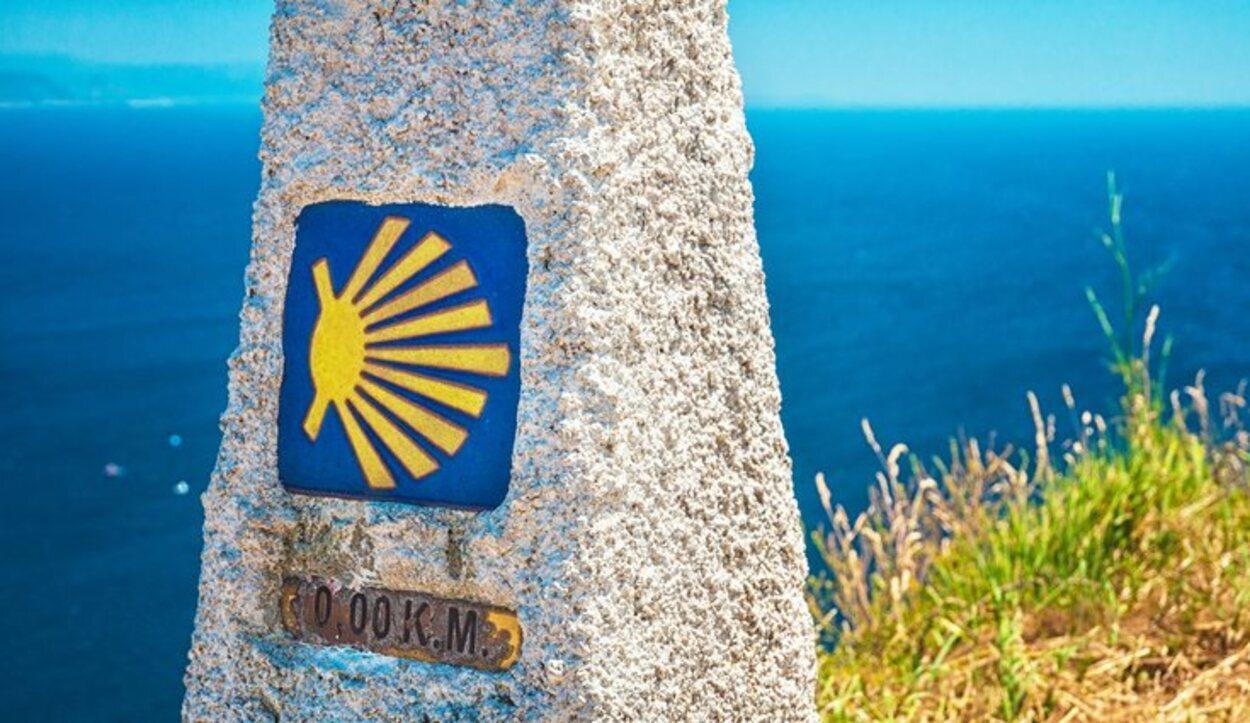 El kilómetro 0 del Camino se encuentra en Finisterre