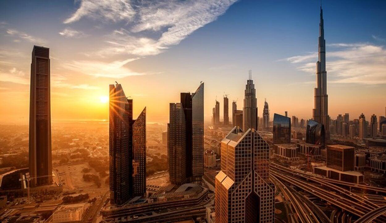 En Dubai la vida se hace dentro de locales climatizados