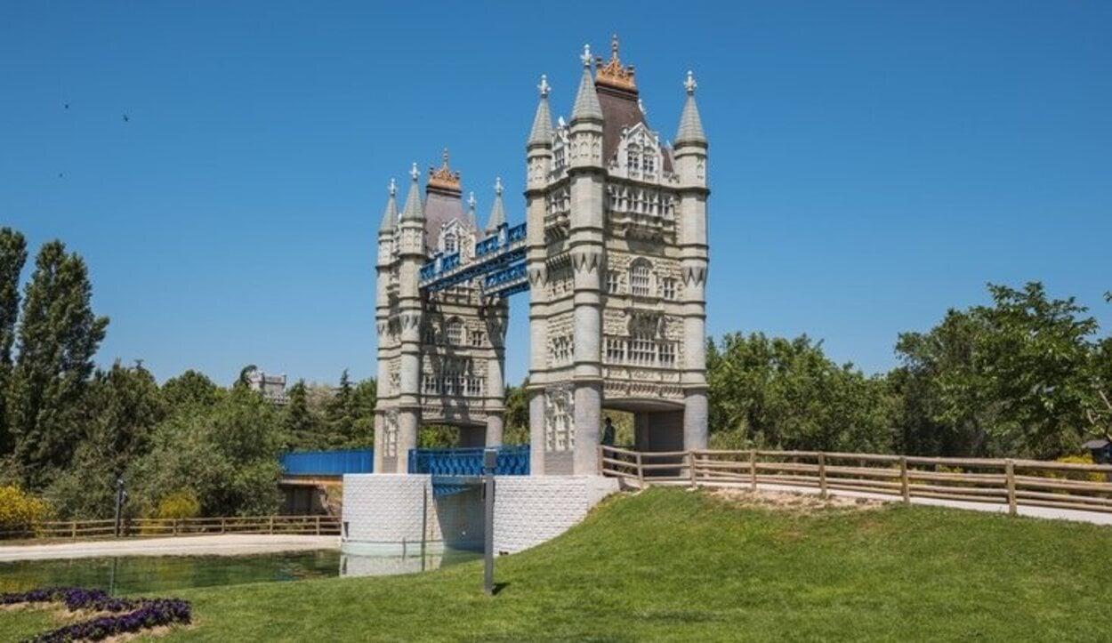 La entrada al Parque Europa es totalmente gratuita