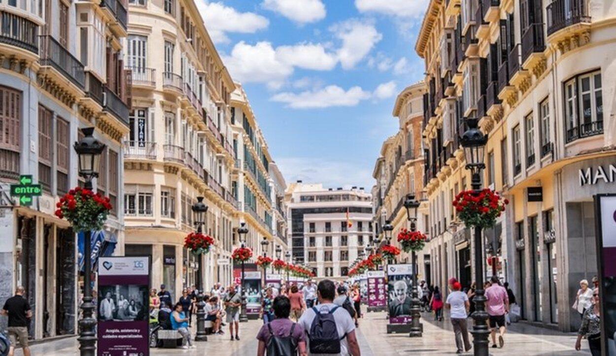 Durante la Segunda República se le cambió el nombre a la calle Larios