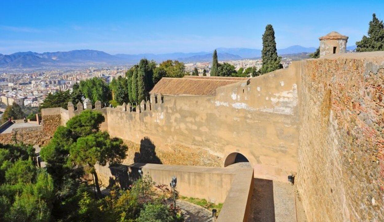 Desde el Castillo de Gibralfaro se puede contemplar toda la ciudad