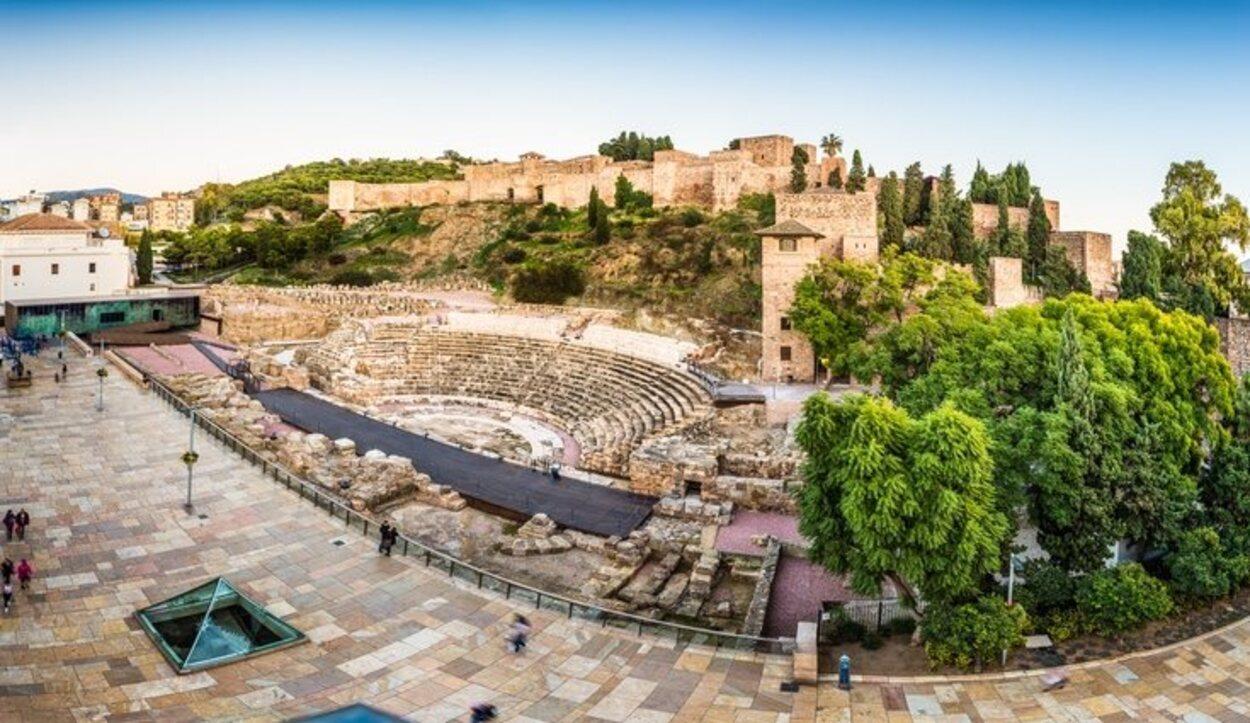 Es uno de los mayores símbolos de la cultura romana que posee Málaga