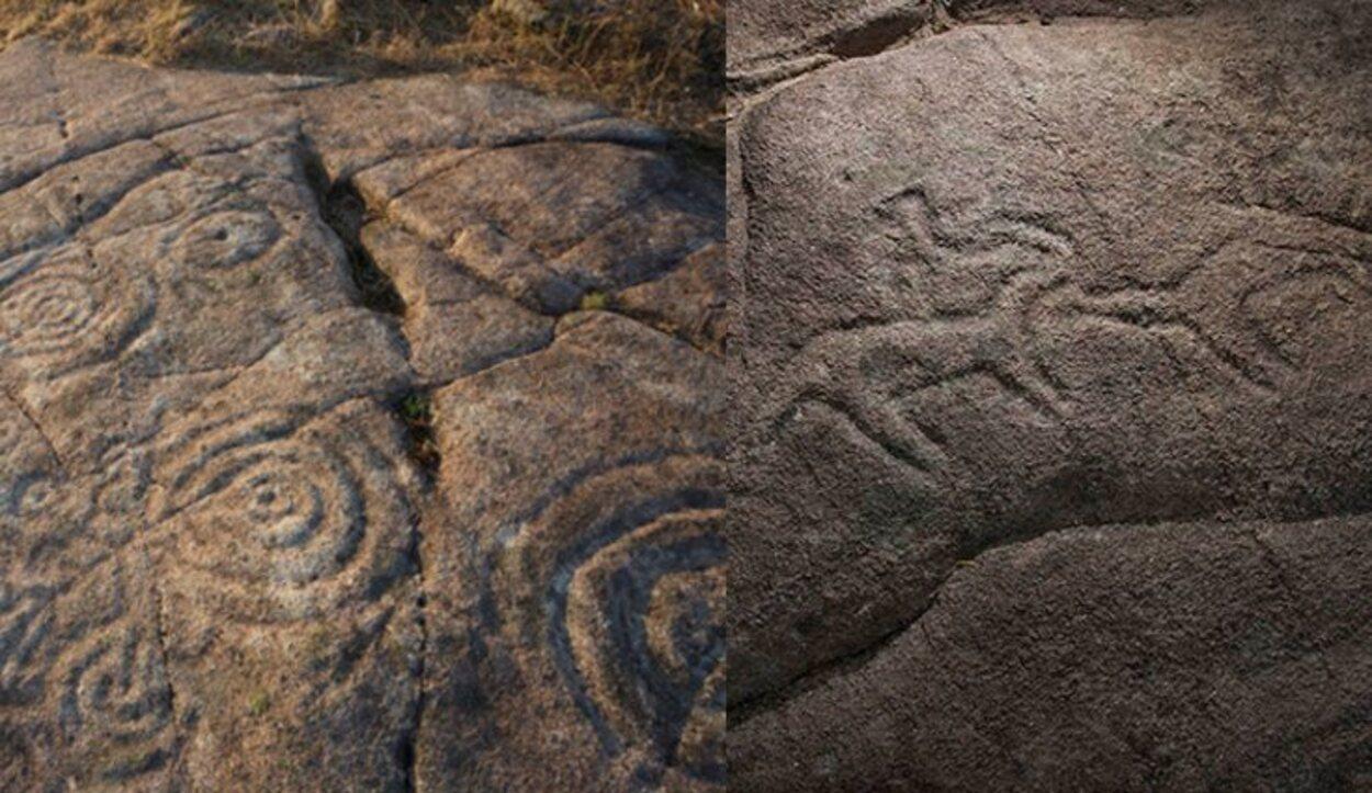 Petroglifos de Campo Lameiro (Pontevedra) / Foto: PAAR