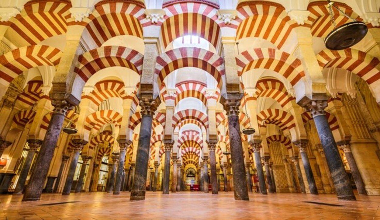 El interior de la Mezquita-catedral